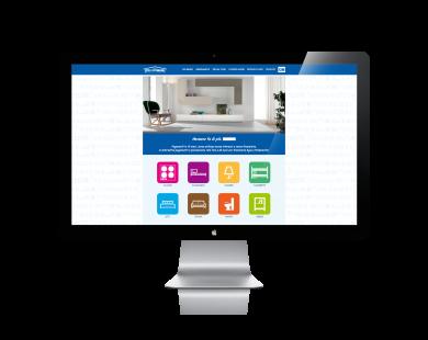 Fabio folgori web designer freelance roma wordpress for Tomassi arredamenti